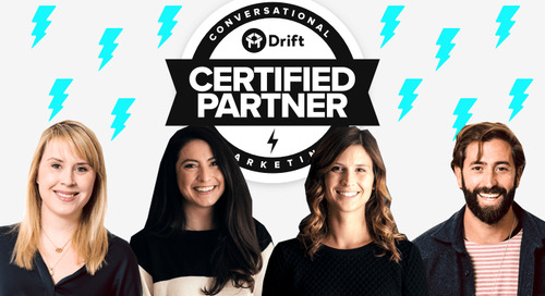 The Drift Partner Program Welcomes A Fresh New Class of Conversational Marketers