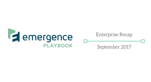 Emergence Enterprise Recap — September 2017