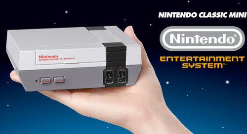 The NES Classic is coming back next month – good luck getting one this time