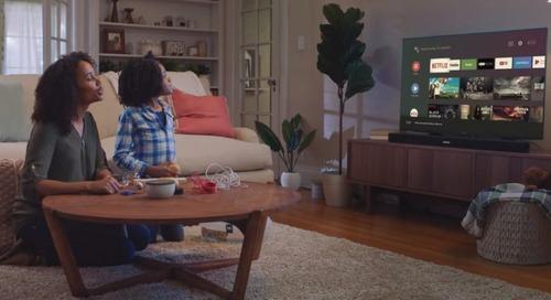 JBL's new Android TV-powered soundbar looks like the smart speaker of my dreams