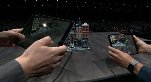 Apple and LEGO's multiplayer AR experience looks like a blast