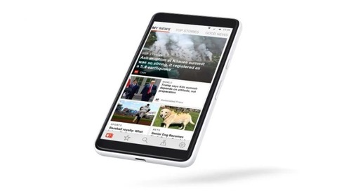 Microsoft relaunches its news app to take on Google and Apple's offerings