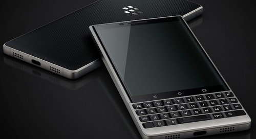 This is what the BlackBerry Key2 looks like