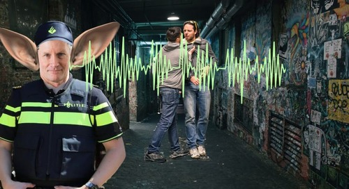Smart sound sensors will help Dutch police nip street fights (and weed farms) in the bud