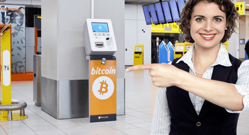Amsterdam Airport now has a Bitcoin ATM