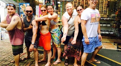 Meet the Ocean Diamond 'Penguin Crew,' Now an International Travel Squad