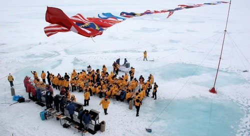 Standing On Top of the World at the North Pole: The Ultimate Travel Goal