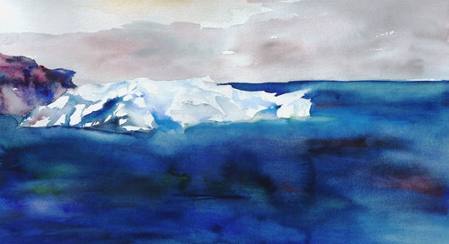 Artist Lisa Goren Revisits Antarctica with Every Stroke of Her Brush