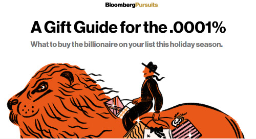 A Gift Guide for the .0001% | Bloomberg Pursuits