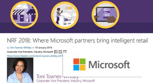 NRF 2018: Where Microsoft partners bring intelligent retail [Microsoft]