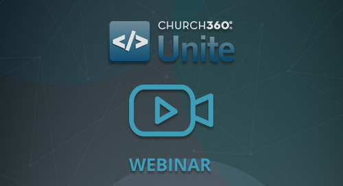Launching a Church Wide Bible Study with Church360° Unite