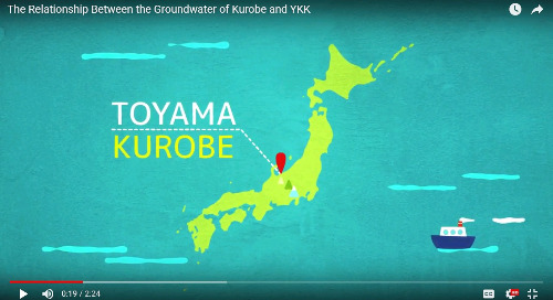 YKK conducts conservation activities to preserve Kurobe, Japan's natural groundwater