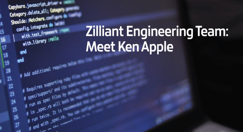Zilliant Engineering Team: Meet Ken Apple