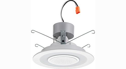 6SL LED Wireless Speaker Downlight