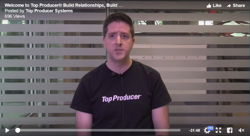 Build Relationships and Build Your Business with Top Producer