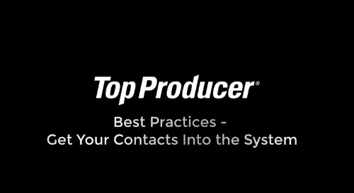 Get your leads and contacts into the system
