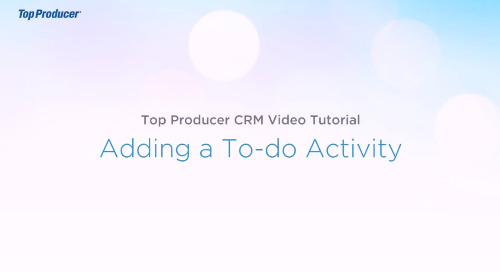 Video Tutorial: Adding a To-Do Activity