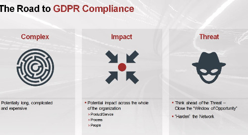 Webinar: The Impact of GDPR: Even if You're Not in the EU