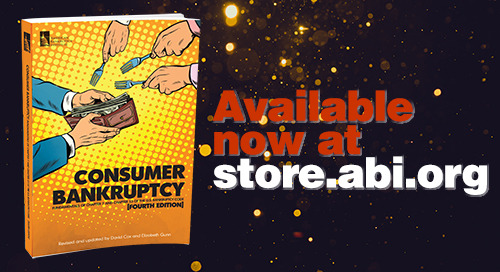 New Publication: Consumer Bankruptcy (4th Edition)