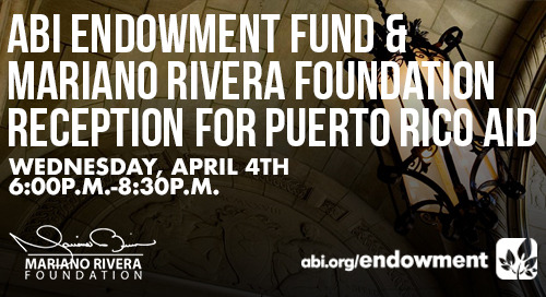 ABI Endowment Fund & Mariano Rivera Foundation Benefit for Puerto Rico