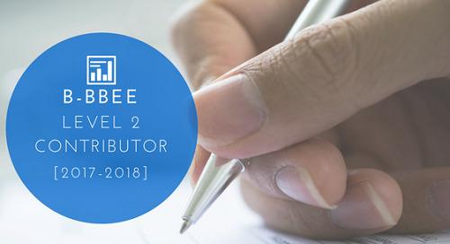 B-BBEE Level 2 Contributor [2017-2018]