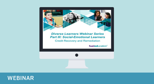 Webinar: Diverse Learners Webinar Series Part 3: Social Emotional Learning