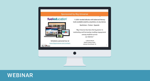 Webinar: Mixing It Up Implementing & Excelling with Blended Learning