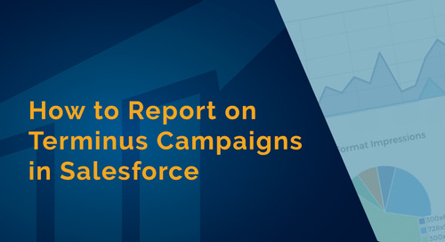 How to Report on Terminus ABM Advertising Campaigns in Salesforce