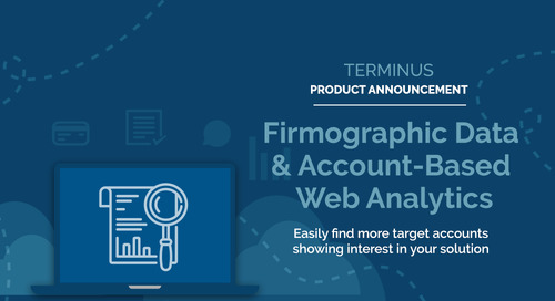 Terminus Product Update: Identify Net-New Target Accounts Already Engaging with Your Brand