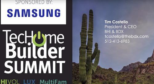 TecHome Summit Keynote: Tim Costello