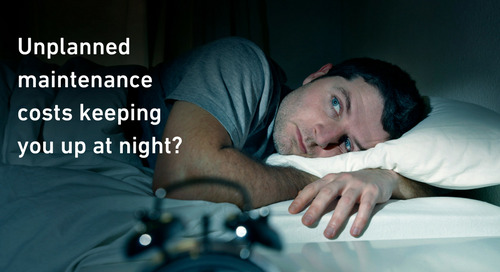 Maintenance costs keeping you up at night?