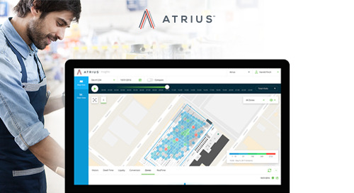 Gain understanding of how visitors interact with your space through Atrius Insights