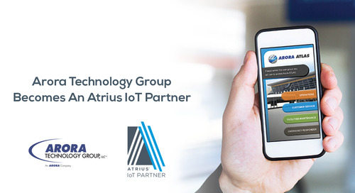 Atrius™ IoT Partner, Arora Technology Group, LLC., is Rethinking Infrastructure®