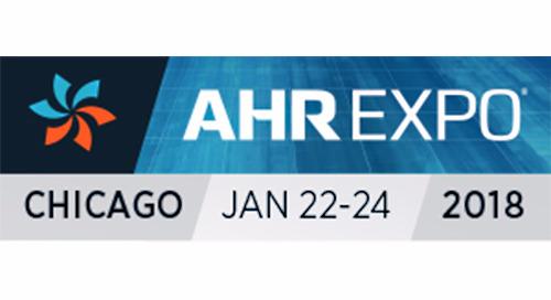 See us at 2018 AHR EXPO