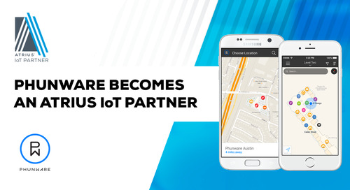 Phunware Adds Atrius™ IoT Indoor Positioning Solution to Its Mapping, Navigation and Wayfinding Offering