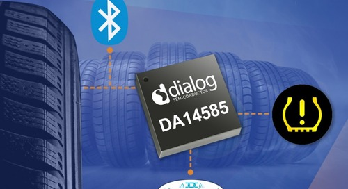 Dialog Semiconductor releases BLE-enabled SoCs for automotive tire pressure monitoring systems