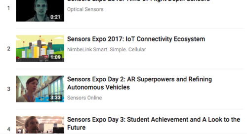 Marketer's guide to Sensors Expo 2018