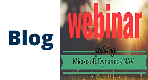 Upcoming Webinar: EDI Integration with Microsoft Dynamics NAV