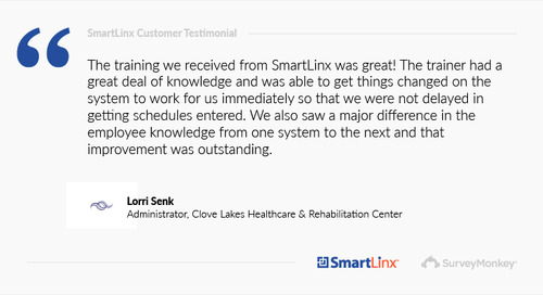 """The training we received from SmartLinx was great!"""