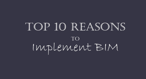 Top 10 Reasons to Implement BIM