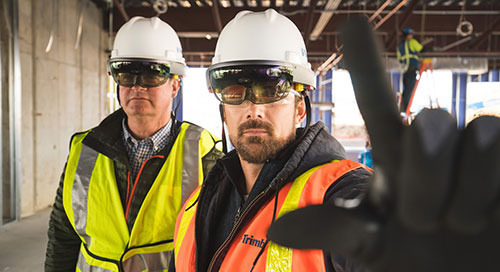 Mixed Reality Gets Real with Trimble's HoloLens Hard Hat