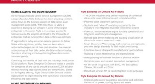 Nlyte Enterprise On-Demand