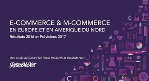 L'e-Commerce en Europe et en Amérique du Nord