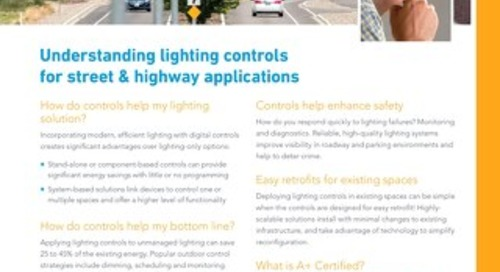 Lighting Controls in Street & Highway Applications [FAQs]