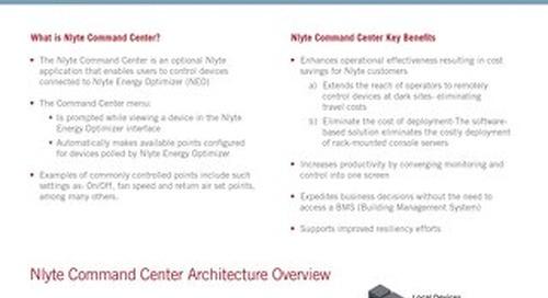 Nlyte Command Center Data Sheet