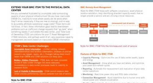 Nlyte for BMC ITSM Data Sheet