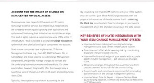 Nlyte Extends the Reach of Your Change Management