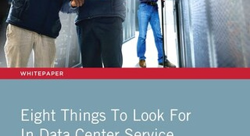 8 Things To Look For In Data Center Service Management Workflow