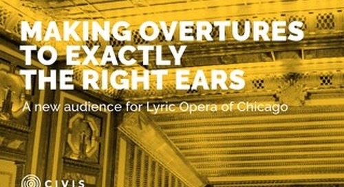 A New Audience for Lyric Opera