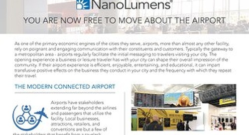 You are now Free to Move About the Airport